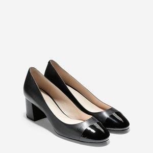 Cole Haan Dawna Grand Pump Size 7.5 Black leather